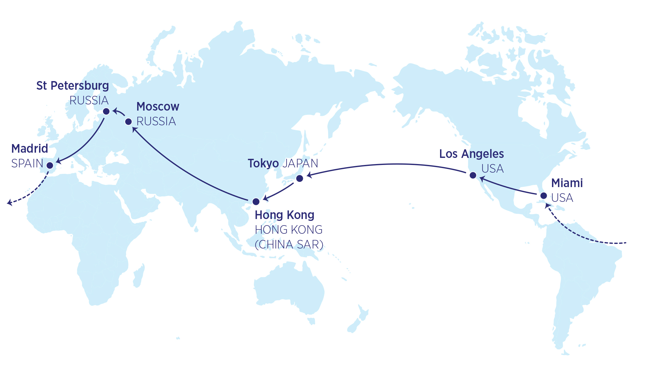 Global Travel | oneworld on flight routes from usa to russia, airplane map usa to india, flight routes united states network, flight routes to latin america from russia, flight routes from china to us, flight routes from usa to japan,